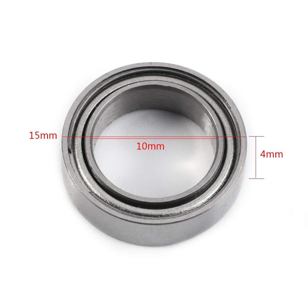 10St 6700ZZ doppelt geschirmtes D/ünnschliff D/ünnwandkugellager Miniaturlager 10 4mm PowerLift D/ünne Wandlager 15