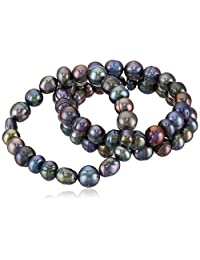 Freshwater Cultured Pearl Stretch Bracelet (Set of Three)