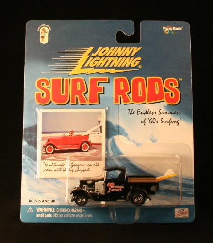 TORRANCE TERRORS * BLACK * Johnny Lightning 2000 SURF RODS Release Two 1:64 Scale Die Cast Vehicle