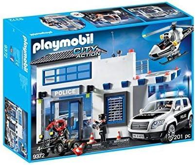 PLAYMOBIL Policía- Mega Set, única (9372): Amazon.es: Juguetes y juegos