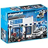 Playmobil 9372 Police Station Bundle