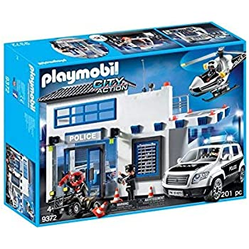 Amazon Com Playmobil Police Car Vehicle Toys Games