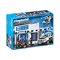 Playmobil Poste de Police et véhicules, 9372