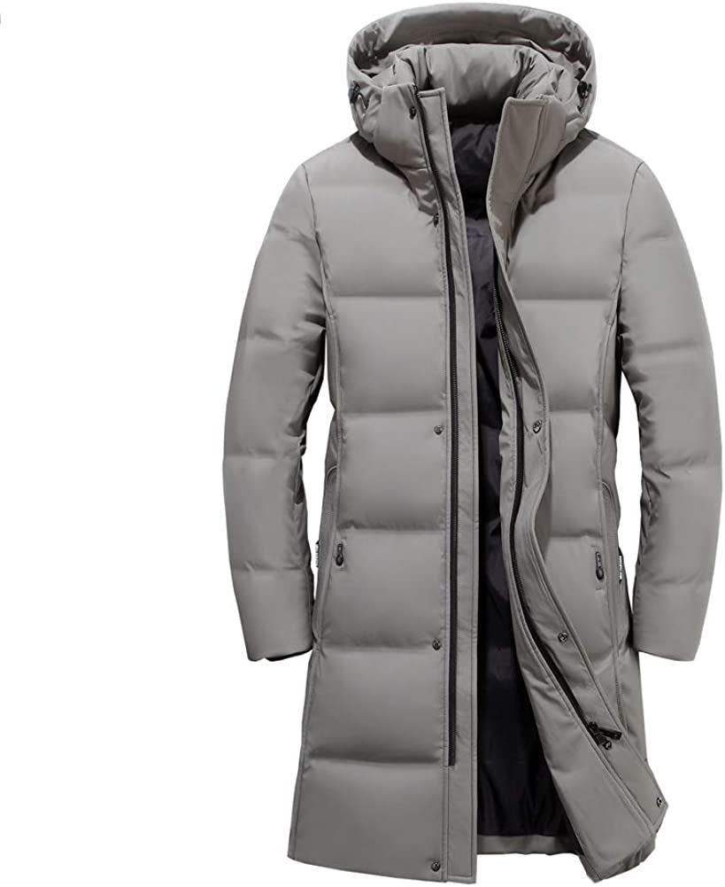 Icegrey Hombre Parka Abrigo Chaqueta De Invierno con Capucha