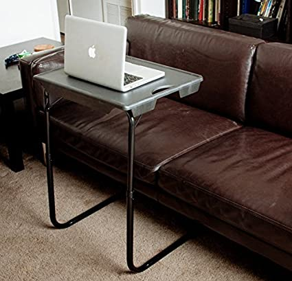 Terrific My Comfy Portable And Foldable Bedside Table Tv Tray Table Ncnpc Chair Design For Home Ncnpcorg
