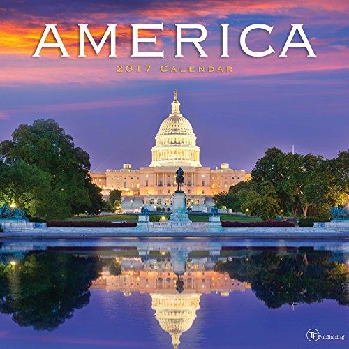 2017 America Wall Calendar
