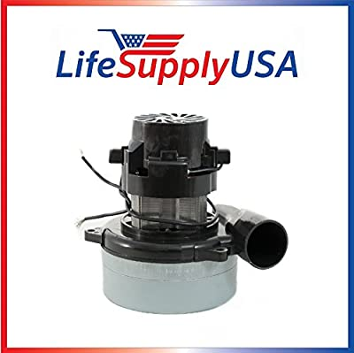 """3 Pack New Central Vac Vacuum Motor with Wires Will Fit Most Brands 5.7"""" 120 Volt 1300 Watts UL Listed 119412 9412 Electrolux by LifeSupplyUSA"""