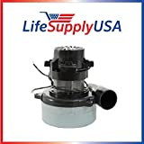 New Central Vac Vacuum Motor with Wires Will Fit Most Brands 5.7'' 120 Volt 1300 Watts UL Listed Lux 119412 119414-00 Electrolux by LifeSupplyUSA