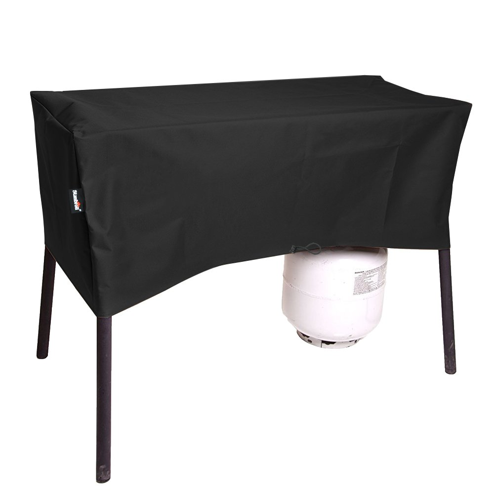 Stanbroil Patio Cover for Camp Chef 2 Burners Stove, Fits OSD-60LW, EX-60, CC-60, DL-60, DC-60LW, DH-280, DH-170, SOC-60