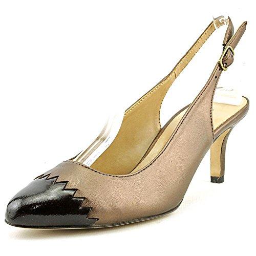 Metallic Patent Footwear (VANELi Women's Liddy Dress Pump,Castagna Pearl Nappa/T.Moro Smack Metallic Patent,9.5 N)