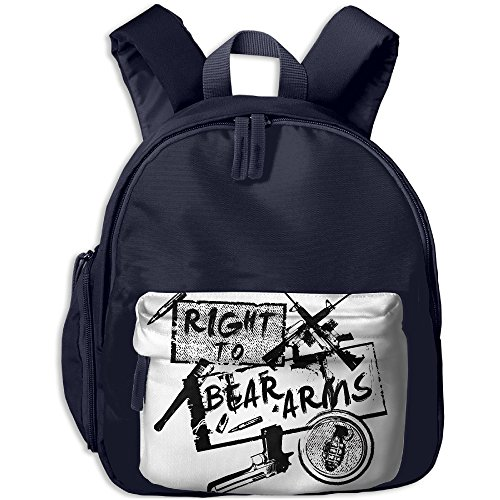 Schoolbag Shoulder Bag For Kindergarten Right To Bear Arms Daughter Class Gift New JOYLIAN - Costume Definition Oxford