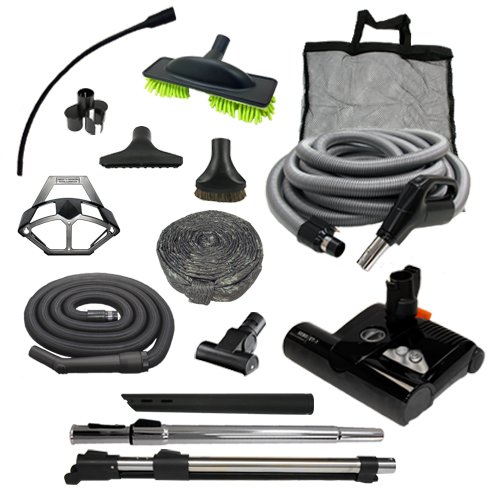 Sebo Diamond Central Vacuum Accessory Kit w/ET-1 (Direct Connect, 35′)