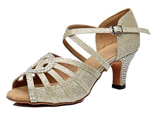 TDA - Zapatos con tacón mujer 6cm Gold