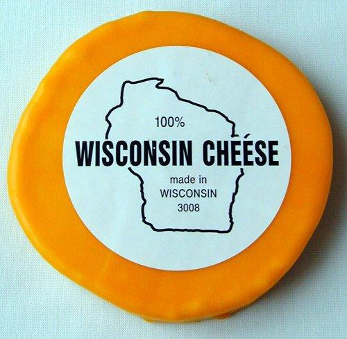Aged Wisconsin Cheddar - Wisconsin Cheddar Cheese - 2 lb. Round, Aged Cheddar