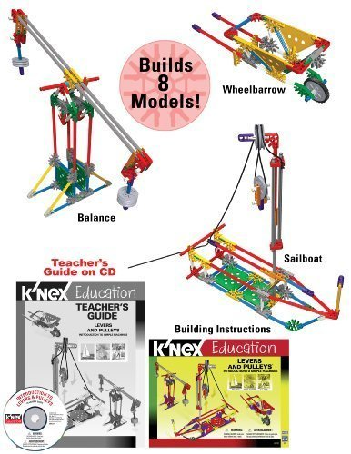 (K'NEX Education - Intro To Simple Machines: Levers and Pulleys Toy, Kids, Play, Children by Games 4 Kids)