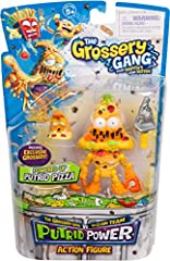 It's time for the Grosseries the POWER UP! The Grossery Gang are ready to take on the Clean Team as they become the most festering Action Figures ever to crawl out of a trash can!