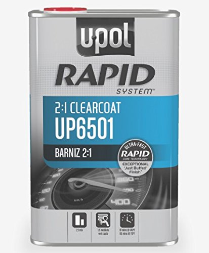 U-POL 6501 Rapid System Clearcoat, 1L Tin