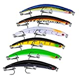 HighlifeS Fishing Bait 1Pc Artificial Fake More Colors Fish Bait Fishing Lure Bait Bionic Fishing Gear (A)