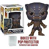 Funko Pop! Marvel: Black Panther - Black Panther Warrior Falls #274 Vinyl Figure (Bundled with Pop BOX PROTECTOR CASE)