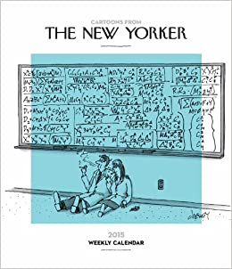 Cartoons from The New Yorker 2015 Weekly Planner Calendar