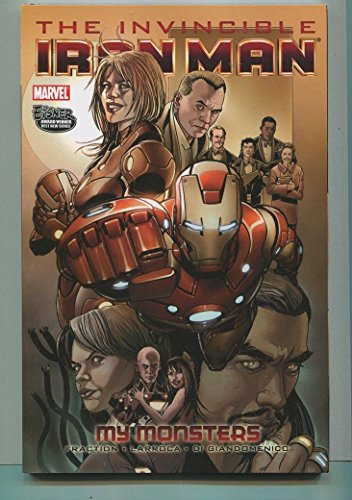 Invincible Iron Man My Monsters New Trade Paperback TPB Graphic Novel