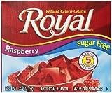 Royal Raspberry Gelatin Dessert Mix, Sugar Free and Carb Free (12 – .32oz Boxes) Review