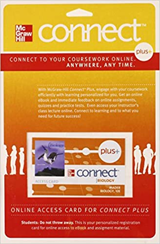 Amazon connect plus access card biology 9780077303624 sylvia connect plus access card biology 10th edition by sylvia mader fandeluxe Choice Image