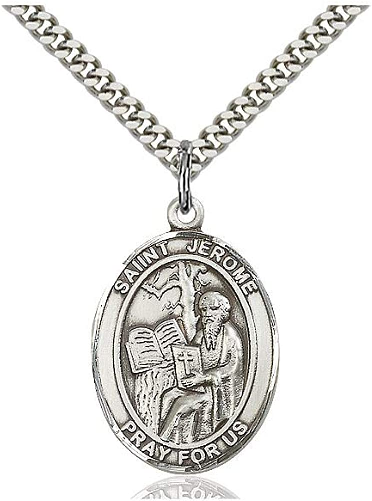 Raphael The Archangel Pendant DiamondJewelryNY Sterling Silver St