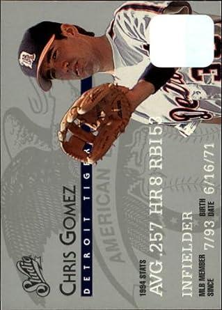 Amazon.com: 1995 Donruss Studio Baseball Card #53 Chris Gomez Mint: Collectibles & Fine Art