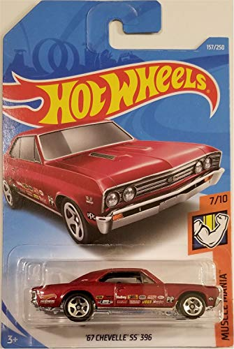 Hot Wheels 2019 Mainline Muscle Mania 157/250 - '67 Chevelle SS 396 [Int. Card]