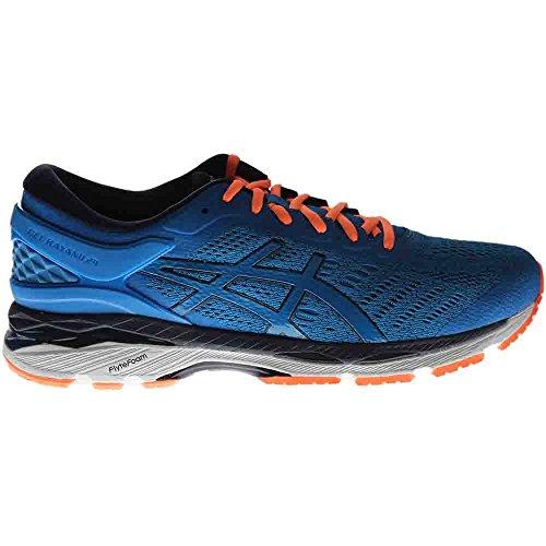 ASICS Men's Gel-Kayano 24 Running Shoe, Directoire Blue/Peacoat/Hot Orange, 12 Medium US by ASICS (Image #1)