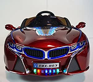 RIDE ON CAR BMW I8 xmx 803 STYLE with RC/REMOTE CONTROL 12V BATTERY OPERATED. For kids 2-5 years old Ride on Power Wheels Led lights MP3 Led Wheels Electric Car Ride On Toy Car LED Wheels