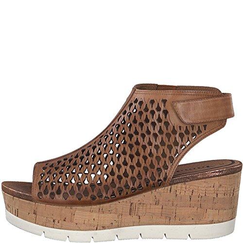 Sandalo Da Donna Tamaris Marrone