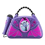 Vampirina Sing Along Boombox with Real Working Microphone Built In Music and Can Connect to MP3 Player