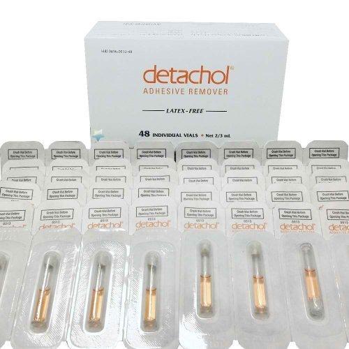 Detachol Vials Box of 48 by Detachol