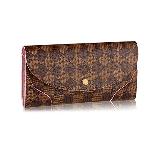 Louis Vuitton Damier Canvas Caissa Wallet Rose Ballerine Article:N61227