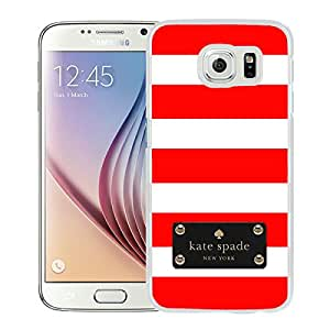New Beautiful And Durable Custom Designed Kate Spade Cover Case For Samsung Galaxy S6 White Phone Case 117