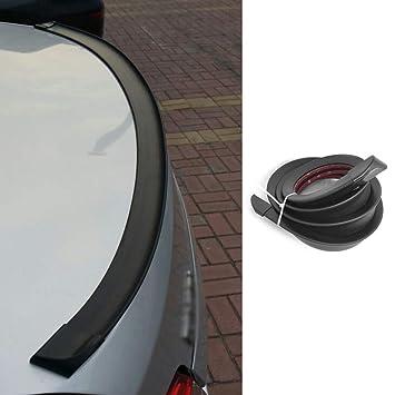 Alerón trasero para coche, 1,5 m, universal, para coche, con tira de goma: Amazon.es: Coche y moto