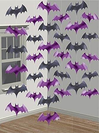 Juego de 6 decoración Techos) * * para murciélagos Halloween ...