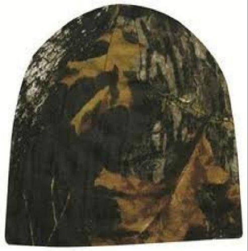 Mossy Oak Reversible Orange/Camo Knit (Mossy Oak Reversible Hat)