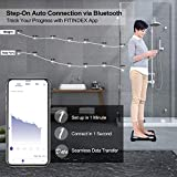 FITINDEX Smart Bluetooth Body Fat Scale with