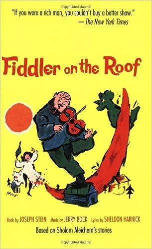 Fiddler On The Roof (song Lyrics Only): Amazon.co.uk: Joseph Stein, Jerome  Robbins: 9780879101367: Books