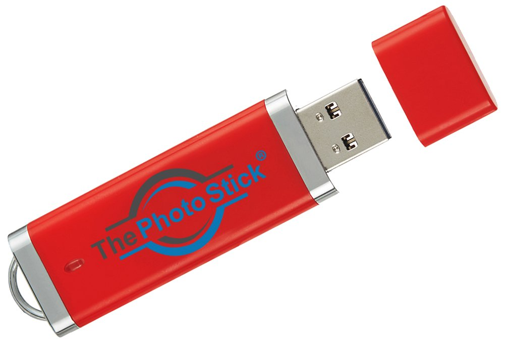 ThePhotoStick 128 -- Easy, One Click Photo and Video Backup, 128GB by PrairieIT