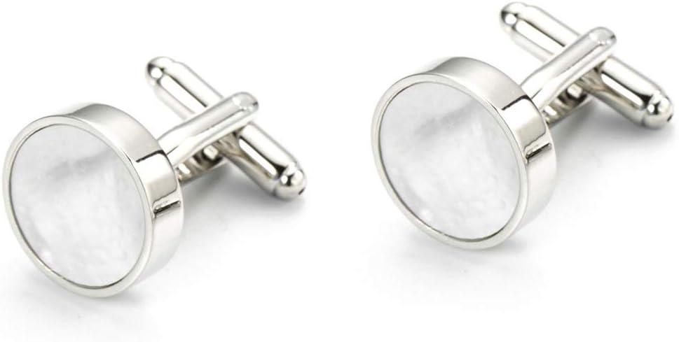 XUROM-Jewellery Mens Cufflinks Tuxedo Shirt Circular Cufflinks Bear Copper Style Cuff for Men Women Business Wedding Gifts
