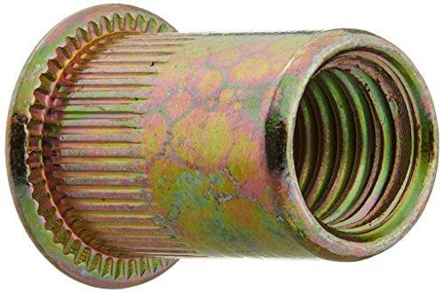 eDealMax a16041900ux0367 3/8-16 Plana cabeza del remache tuerca de inserción