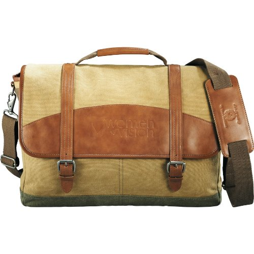 - Cutter & Buck Legacy Cotton Compu-Messenger Bag