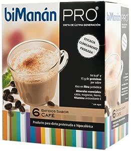 BIMANAN Pro batido de cafe 6 unidades