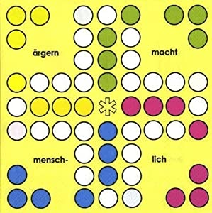 Signes Grimalt - 20 Papierservietten 33 cm MENSCH-AERGERE-DICH-NICHT 34027SG