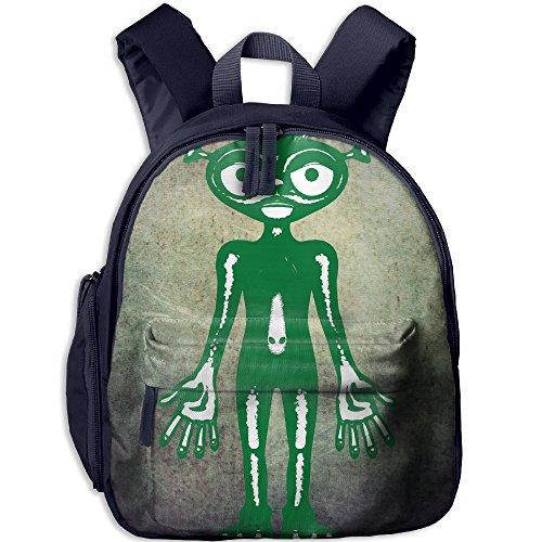 Mars Attacks Martian Girl Costume - Alien Child Oxford Fabric Backpack,Bag For Girls