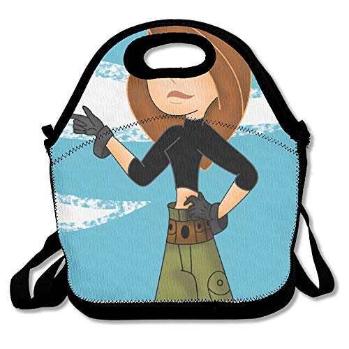 Kim Possible Travel Tote Lunch Bag -